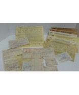 1934 Buick Sedan Original Receipt and 1940 1941 1942 1943 1944 1945 Regi... - $30.65