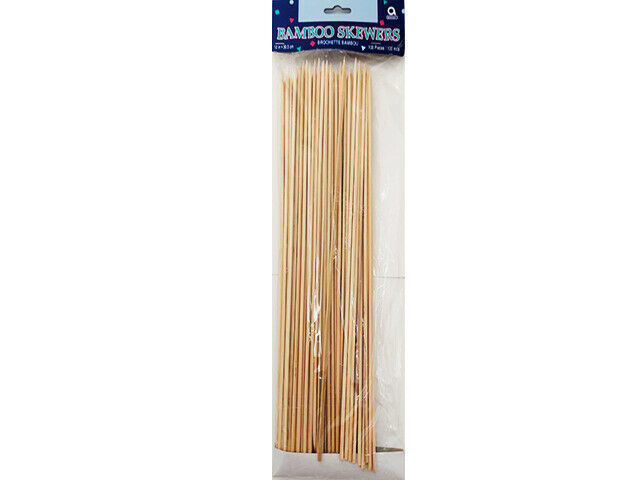 """Amscan Bamboo Skewers, 12"""", 100 Count #4538"""
