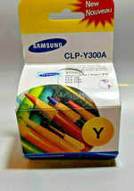 Samsung CLP-Y300A Yellow Toner Cartridge CLP-300 Genuine New Factory Sealed Box - $9.85