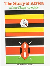 Africa and Her Flags Coloring Book [Paperback] Bellerophon Books - £4.46 GBP