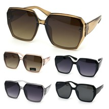 Womens Designer Geometric Exposed Lens Squared Butterfly Sunglasses - $9.95