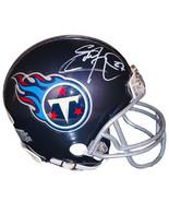 Eddie George signed Tennessee Titans Riddell Navy Speed Mini Helmet #27 ... - $109.95
