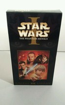Star Wars Phantom The Menace Episode 1 VHS Tape - $9.89
