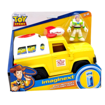 Fisher-Price Imaginext Disney Toy Story 4 Buzz Lightyear And Pizza Plane... - $22.76
