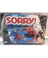 Sorry Board Game 2007 SPIDER-MAN  3 Edition Special Cards Add New Twist ... - $9.94