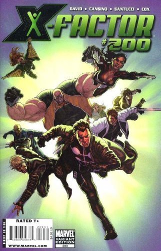 "X-factor #200 ""David Yardin Incentive Variant"" [Comic] [Jan 01, 2010] MARVEL COM"