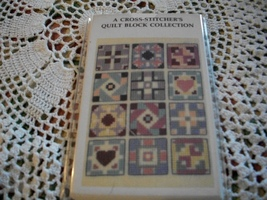 A Cross-Stitcher's Quilt Block Collection - $8.00