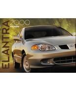 2000 Hyundai ELANTRA sales brochure catalog US 00 GLS sedan wagon - $6.00