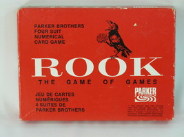 ROOK 1963 Red Box Card Game Parker Brothers 100% Complete Near Mint #2 - $34.65