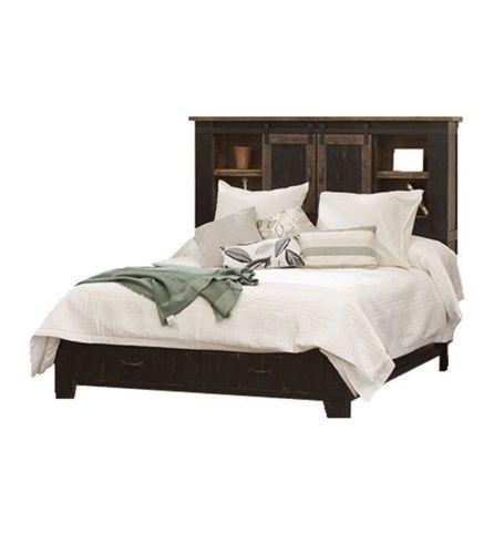 Black King Size Anton Storage Bed