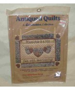 """Neat 8"""" X 6"""" Quilt Quilted Wall Hanging Kit Friendship Is A Gift Tied He... - $19.24"""