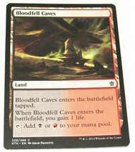 Magic and Gathering MTG Bloodfell Caves X4 - $9.01