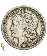 1888-S Silver Morgan Dollar (Very Fine, VF Condition) - €152,54 EUR