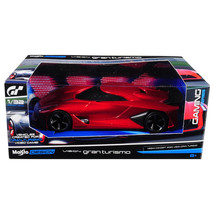 2020 Nissan Concept Vision Gran Turismo Red 1/32 Diecast Model Car by Ma... - $21.53