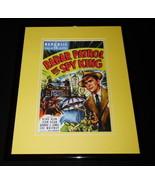 Radar Patrol vs Spy King Framed 11x14 Poster Display Kirk Alyn Jean Dean - $34.64