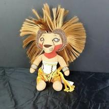 "Disney Lion King Broadway Musical Simba Plush Doll 13"" Africa Tribal #A47 - $7.92"