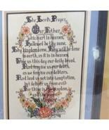 Bucilla The Lords Prayer 45183 Counted Cross Stitch Kit 12 x 18 Evenweave - $28.15