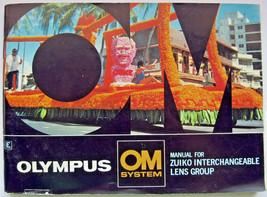 Olympus Zuiko Lens Group OM System Manual Instruction Book Vintage Made ... - $5.93