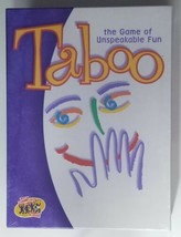 Taboo Game the Game of Unspeakable Fun Hasbro Hersch Factory Sealed 04015 - $23.36