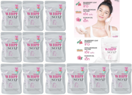 x12 Snail White Whipp Soap with Delicate Net for Soften Whip Foam Skin Whitening - $123.00