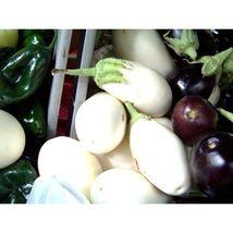 Eggplant, White Casper, Rare Heirloom, 10 Seeds #GRC98 - $12.17