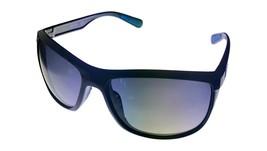 Kenneth Cole Reaction Mens Sunglass Black Rectangle Wrap, Gradient Len KC1368 1B - $17.99