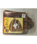 Maxam Pet Club SPPETHS Faux Mink House Brown Black Packaged - $37.99