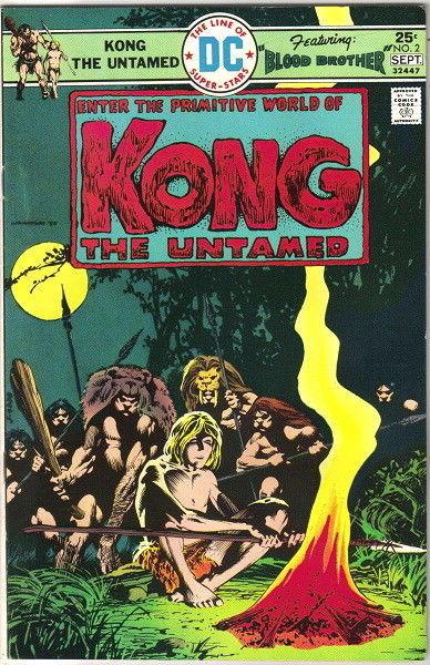 Kong The Untamed Comic Book #2 DC Comics 1975 VERY FINE