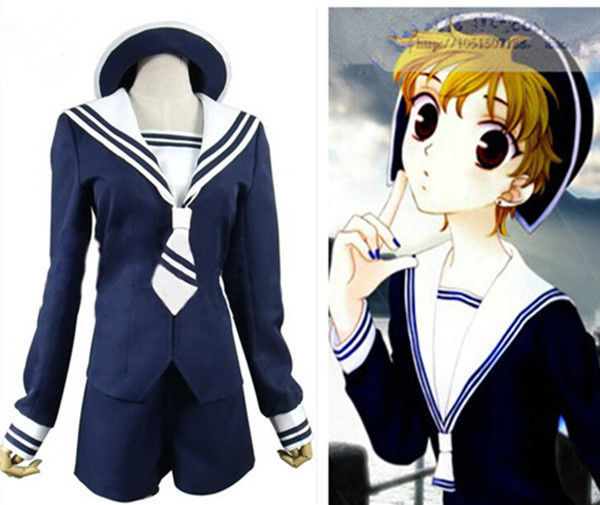 Primary image for Fruits Basket Tohru Honda Uniform Tops Sailor Suit Cosplay Costumes Custom Size