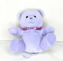 "2007 Build A Bear Workshop Nikki's Bear III Mini McDonald's Lavender 3"" Plush - $6.88"
