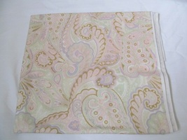 Light Pink & Peach Large Scale Paisley Quilting Fabic JoAnn Fabrics Appx... - $16.90
