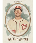 2017 Topps Allen and Ginter #156 Daniel Murphy  - $0.50