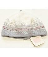 New Janie & Jack Baby 12 18 Months White Gray Fair Isle Knit Soft Winter... - $19.75