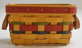 Longaberger 2000 Award Basket Collectible Woven Home Decor Accent - $24.99