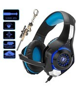 Pro Gaming Headset for PC PS4 Xbox One Surround Sound Over-Ear (blackblue) - €27,09 EUR