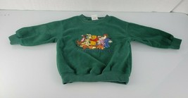 Disney Store Winnie the Pooh and Friends Vintage Fleece Sweatshirt Boy G... - $29.69