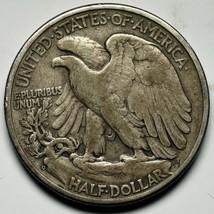1938D Walking Liberty Half Dollar 90% Silver Coin Lot# A 229 image 2