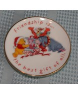 "Hallmark Keepsake ""Friendship Best Gift""  Pooh Plate 1997 Porcelain  - $7.90"