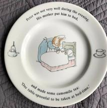 Wedgwood Beatrix Potter PETER RABBIT Bread & Butter Plate - $9.89