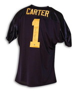 Anthony Carter Autographed Michigan University Blue Throwback Jersey - $249.00