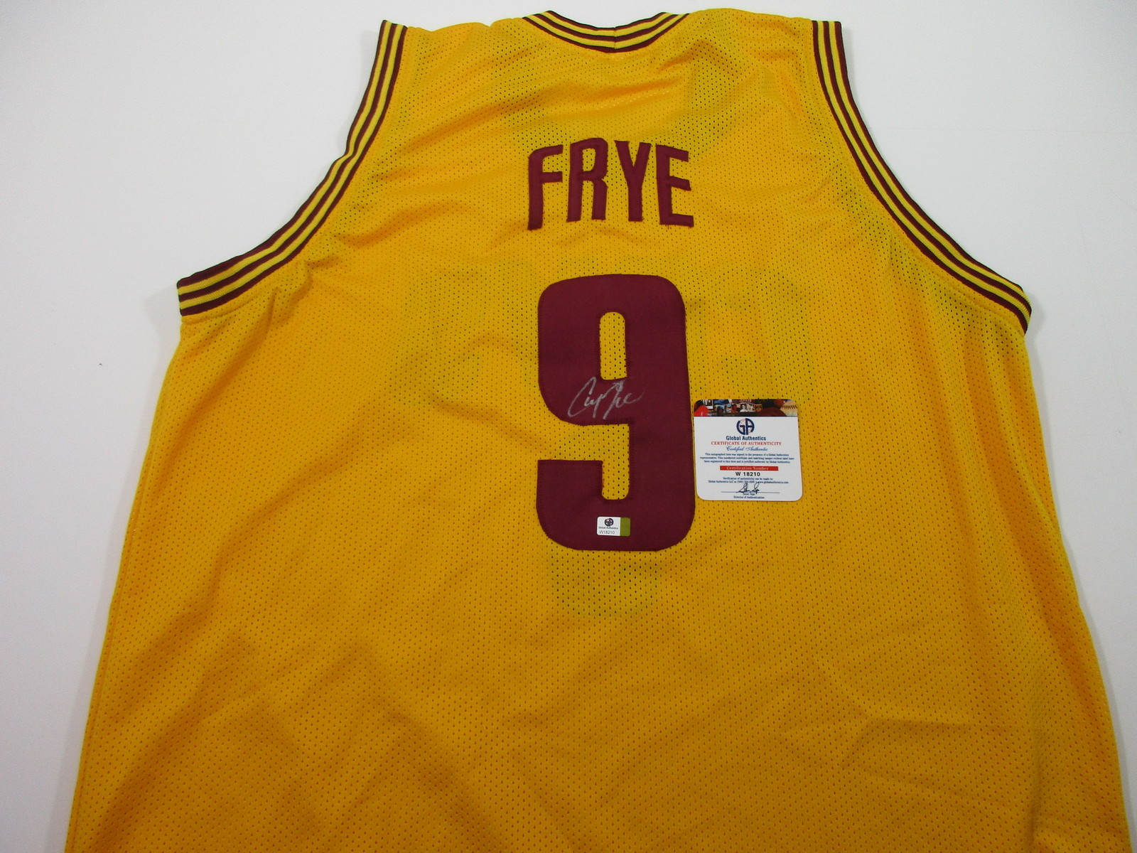 4dbfb0018 Channing Frye - Cleveland Cavaliers - Hand and 38 similar items. Img 6880