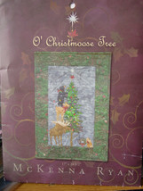 "Pattern McKenna Ryan ""O' Christmoose Tree"" 17"" x 21.5"" (Used but UNCUT) - $9.99"
