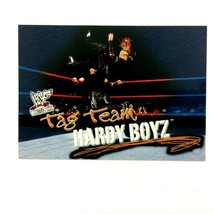 The Hardy Boyz 2001 Fleer WWF Wrestlemania Card #72 Matt & Jeff - $2.92