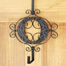 Monogram Wreath Hanger O - $18.95