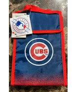 """Chicago Cubs Lunch Bag Cooler Box Tote New MLB 8"""" x 11"""" x 4""""  - $13.86"""