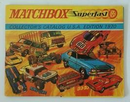 Vintage 1970 Matchbox Lesney Diecast Collector's Toy Dealer Catalog Booklet Mint - $10.00
