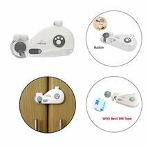 Safe-O-Kid Whale Shaped Baby Safety Lock, Multi-Purpose, Dual Color Cabinet/Draw - $22.54