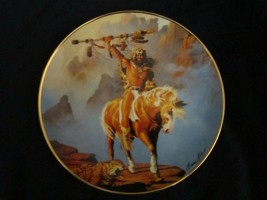 Spirit Of The South Wind Collector Plate Hermon Adams Native Western Heritage - $9.99