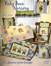 Baby Bear Nursery Jeanette Crews Designs Quilting Pattern Booklet NEW - $4.47