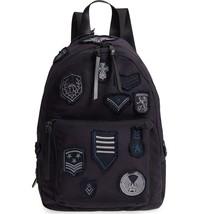John Varvatos Star USA Men's Gibson Patch Backpack Canvas Nylon Midnight... - $156.42